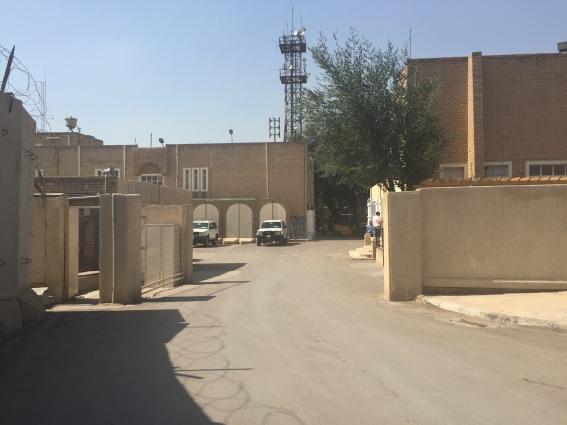 UN compound Baghdad - credit Uta Filz OCHA