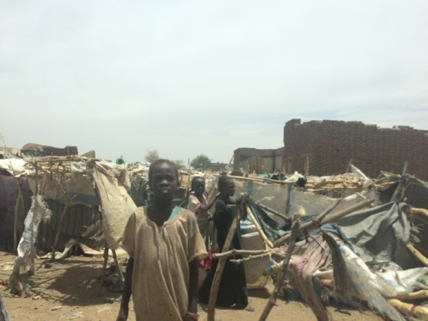 New IDPs Hassahissa camp Zaligei town credit M.Battah OCHA